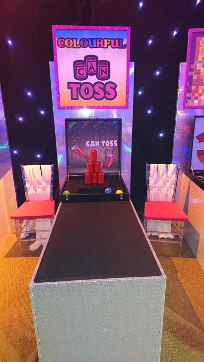 Can Toss Premium Carnival Game Stall