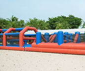 Obstacle Challange 20 m inflatable renta