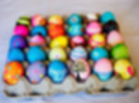 egg painting easter day art and craft kids party