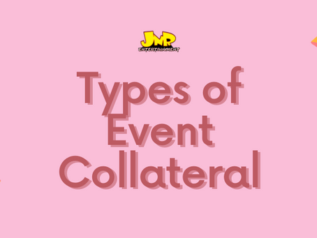 Types of Event Collateral