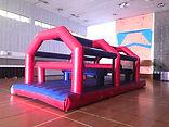 Obstacle Bar Destroyer Inflatable Rental Singapore