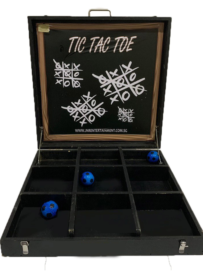 Tic Tac Toe Carnival Game Stall