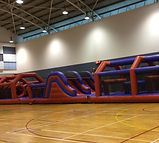 Obstacle Challenge inflatable rental singapore