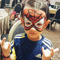 Awesome Face painting service face painter singapore best cartoon character