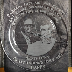 Personalized photo on a plate