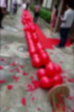 balloon firecracker popping effect