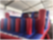 Obstacle Slider Destroyer Inflatable Rental Singapore