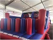 Obstacle Slider Destroyer Inflatable Rental Singapore