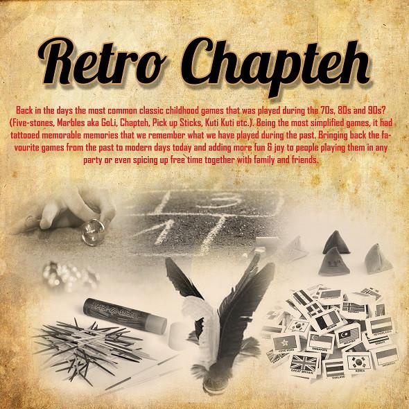 Retro Chapteh Retro Carnival Game Stall