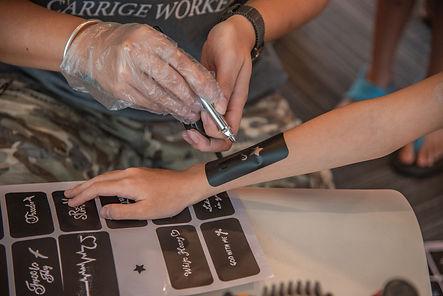 Airbrush Tattoo service singapore jnr entertainment cheap fun