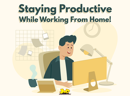 Staying Productive While Working From Home!