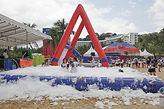 Foam Pool Arch rental singapore