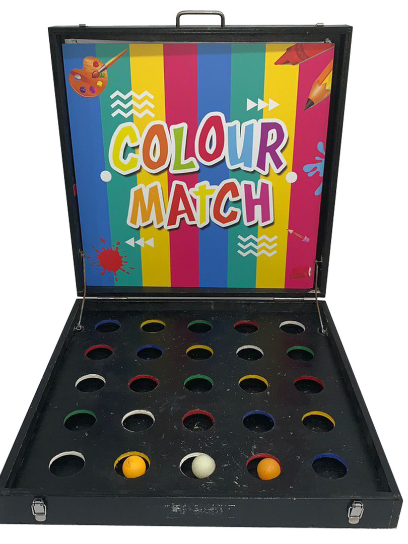 Colour Match Carnival Game Stall