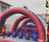 Inflatables Obstacle Rental spike & tunnel