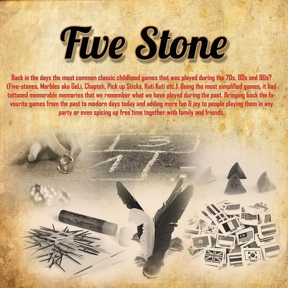 Five Stone Retro Carnival Game Stall