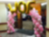 customizable balloons archs for your guests