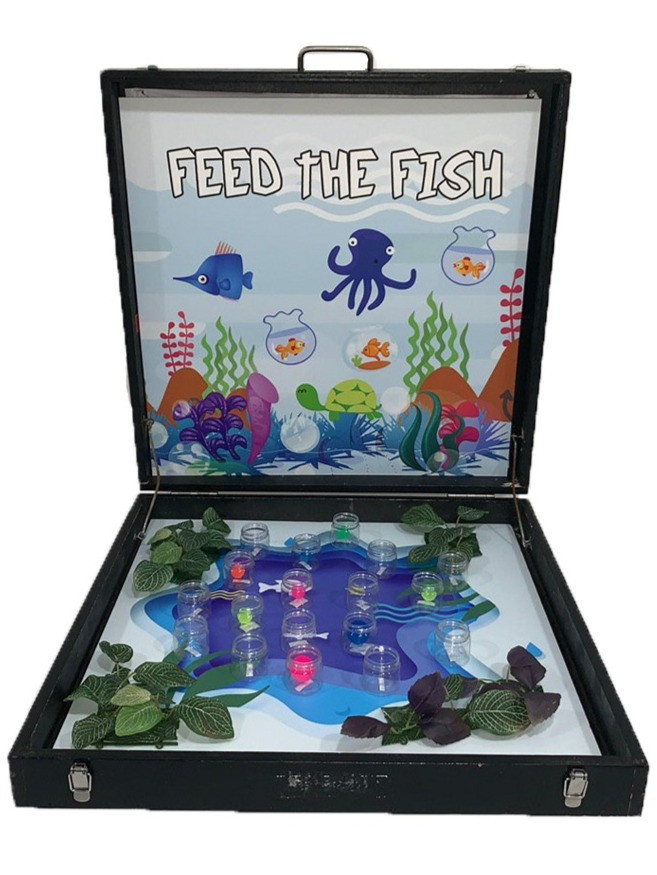 Feed the Fish Carnival Game Stall