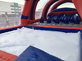 Foam pool obstacble inflatables rental bouncy