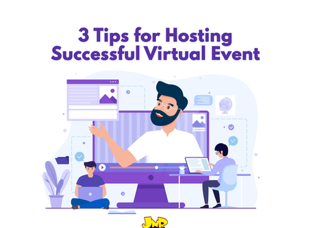 3 Tips for Hosting Successful Virtual Event
