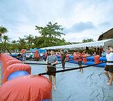 human foosball futsal inflatables rental singapore jnr