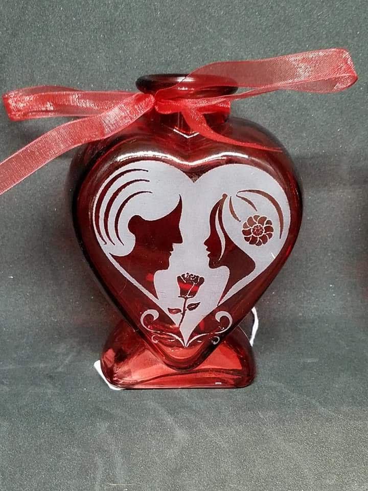 Heart Shaped Vase Valentines Day