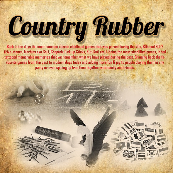 Country Rubber Retro Carnival Game Stall