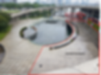 marina barrage central courtyard event space event venue rental