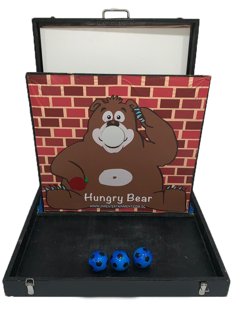 Hungry Bear Carnival Game Stall