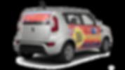singapore car advertising car decal sticker