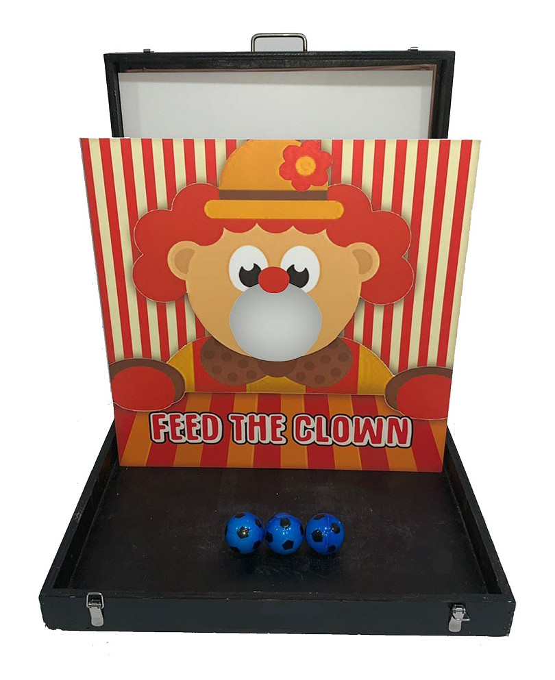 Feed the Clown Carnival Game Stall