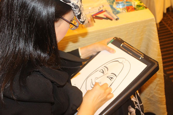 caricature service singapore best artist cheap