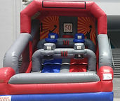 double arcade basketball game rental inflatables singapore