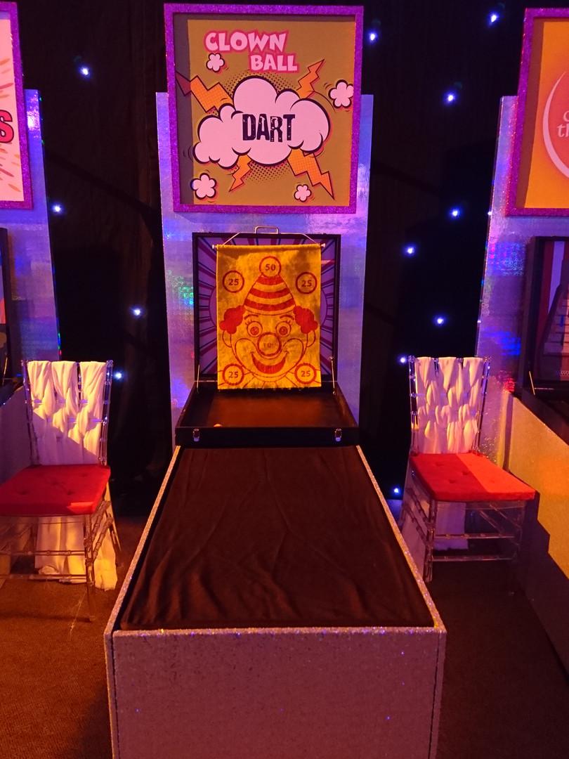 Clown Dart Premium Carnival Game Stall