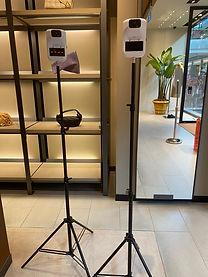 Temperature Screening Service Singapore JNR Entertainment thermal scanner rental