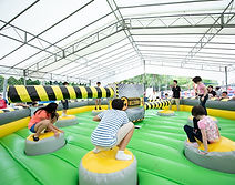 Meltdown Wipe Out Inflatable Rental Singapore