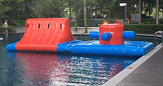 Water Obstacle Inflatable Challenge Rental Singapore JNR
