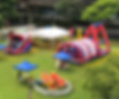 inflatable obtacle bouncy castle rental singapore jnr entertainment