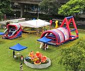 inflatable obtacle bouncy castle rental singapore jnr entertainment