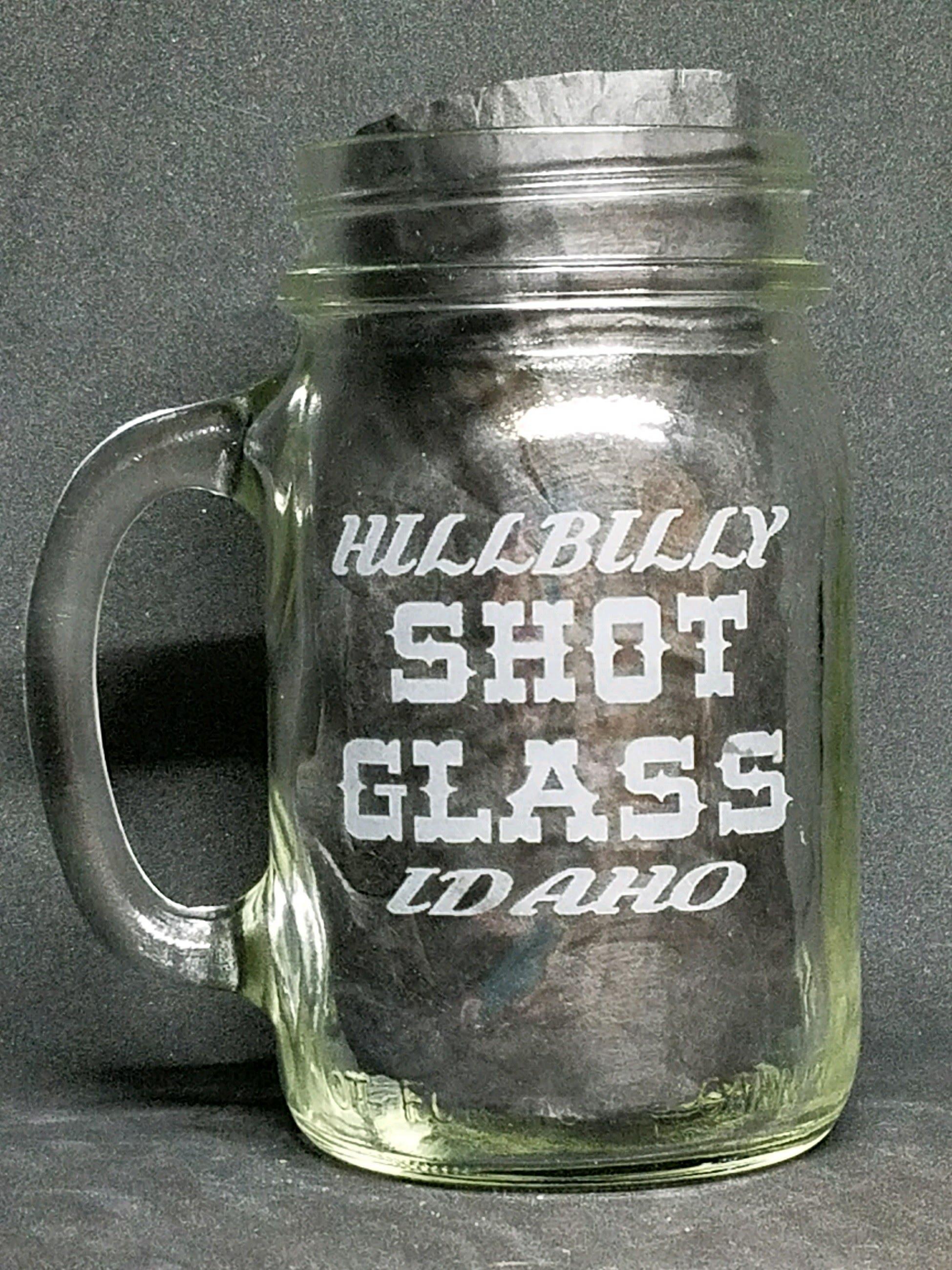 Hillbilly Shotglass