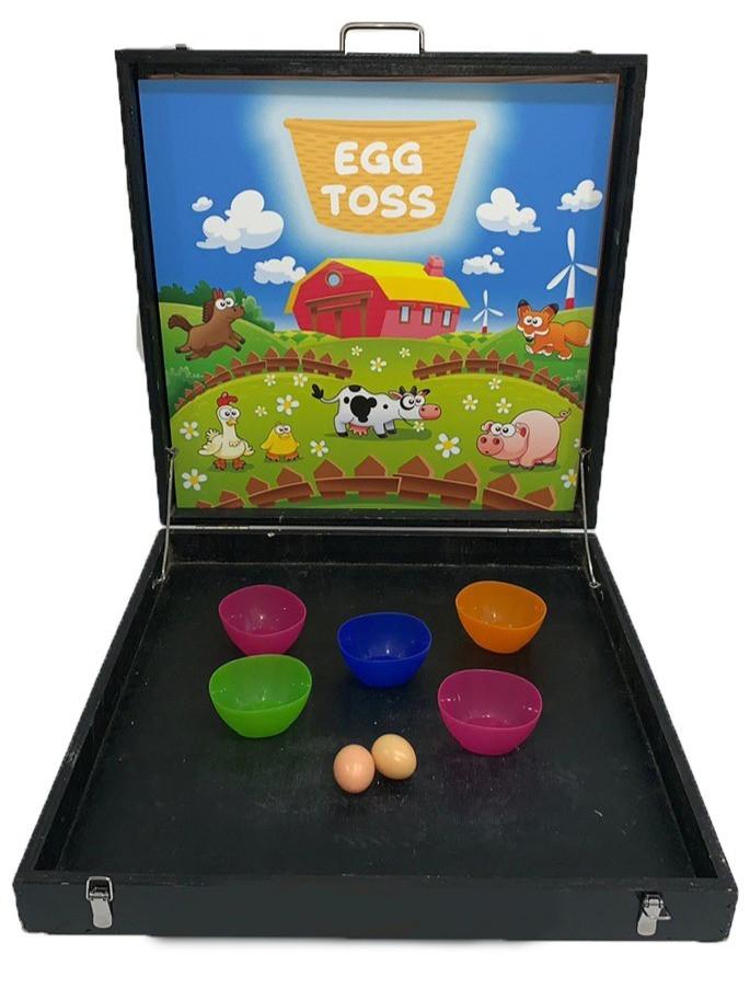 Egg Toss Carnival Game Stall