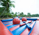 human gladitor inflatable Rental JNR Entertainment Singapore
