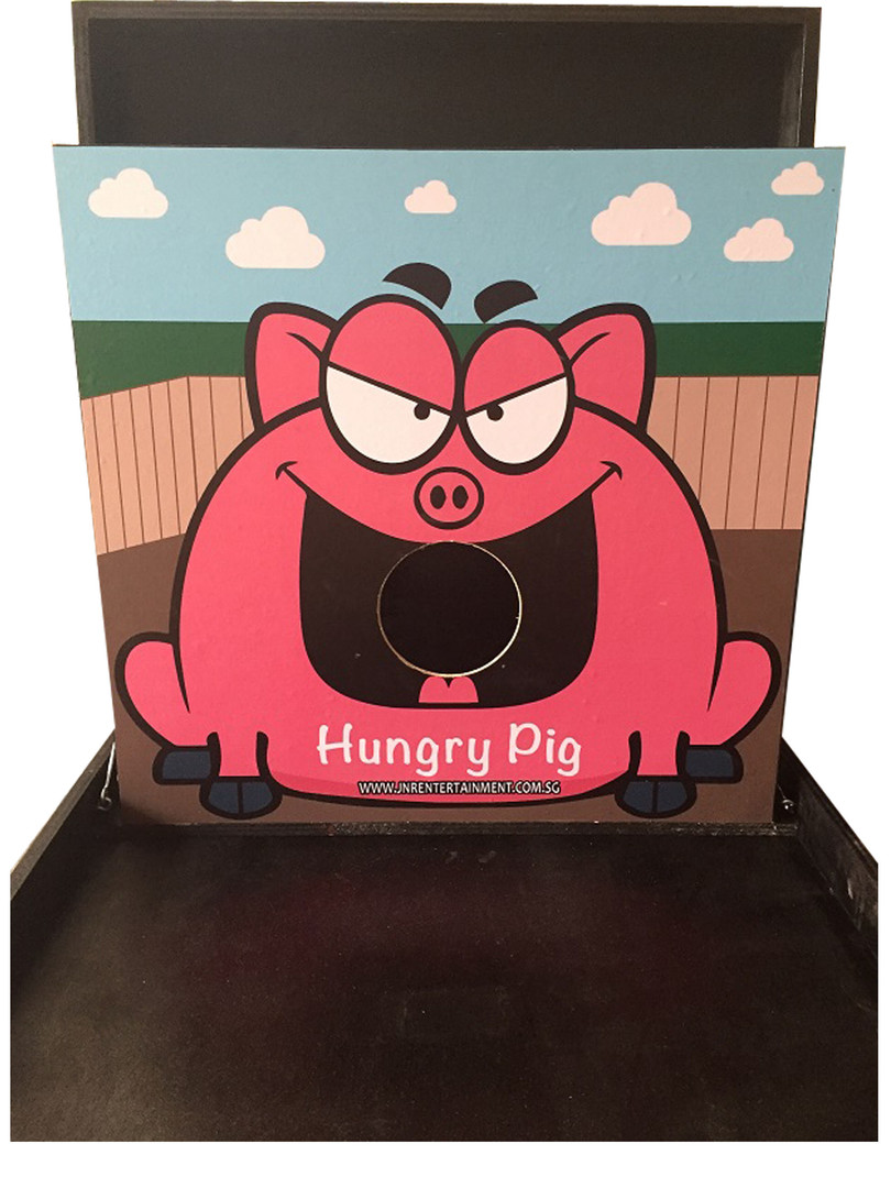 Hungry Pig Carnival Game Stall