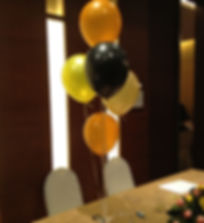 Helium Balloon centerpiece bouquet