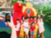 Elmo Mascot rental singapore