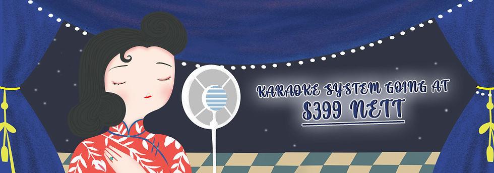 karaoke system promotion rental singapore