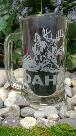 Idaho Deer Etched