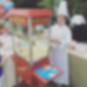 Add something special to your Popcorn & Candy Floss Rental by getting our operators to be in chef look!