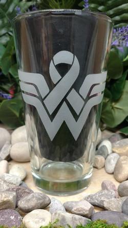 Wonder Women Cancer ribbon