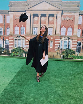 Bethany Welsh Graduation Photo