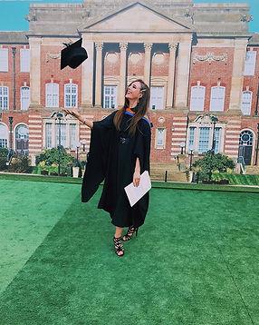 Bethany Welsh Graduation Photo